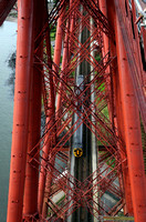 158728 heads over the Forth Bridge on 5.9.12