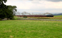 45305 heads past Bullgill on 9.9.12 with the last Waverley of the year.