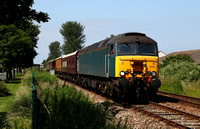 57313 heads back to Bare Lane on 11.7.13.
