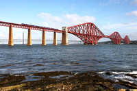 68007 heads over the Forth Bridge with 2G02 0744 Glenrothes with Thornton to Edinburgh.
