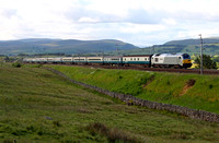 67013 passes Scout Green on 24.6.11 with the Three Peaks Bangor to Ravenglass leg.