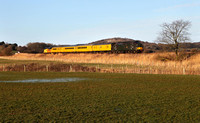 37421 & 37057 head past Crag Foot on 13.2.18 with 1Q47 Derby to Carlisle.