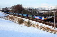 92017 heads past Beckhouses with DBSs first Tesco Express on  4.1.10 -Phil Metcalfe
