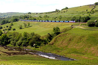 92017 heads through the Lune Gorge 12.6.10