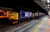 37261 & 37405 pass Preston on 3.12.13 with a Sellafield to Southminster service.