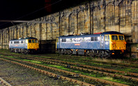 86101 & 87002 have moved up to Carlisle in preperation for Ice breaking duties.1.12.11