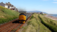 37403 heads away from Seascale with 2C41 1437 Barrow-in-Furness to Carlisle