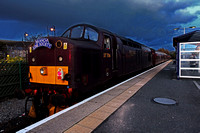 37706 at Morecambe with a 'Branchline line Society' tour to Manchester Liverpool Rd and back.