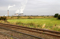 A London Kings Cross service passes Heck Ings on 9.9.14.